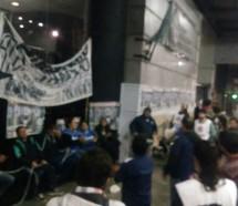Otra protesta contra los despidos de Triaca