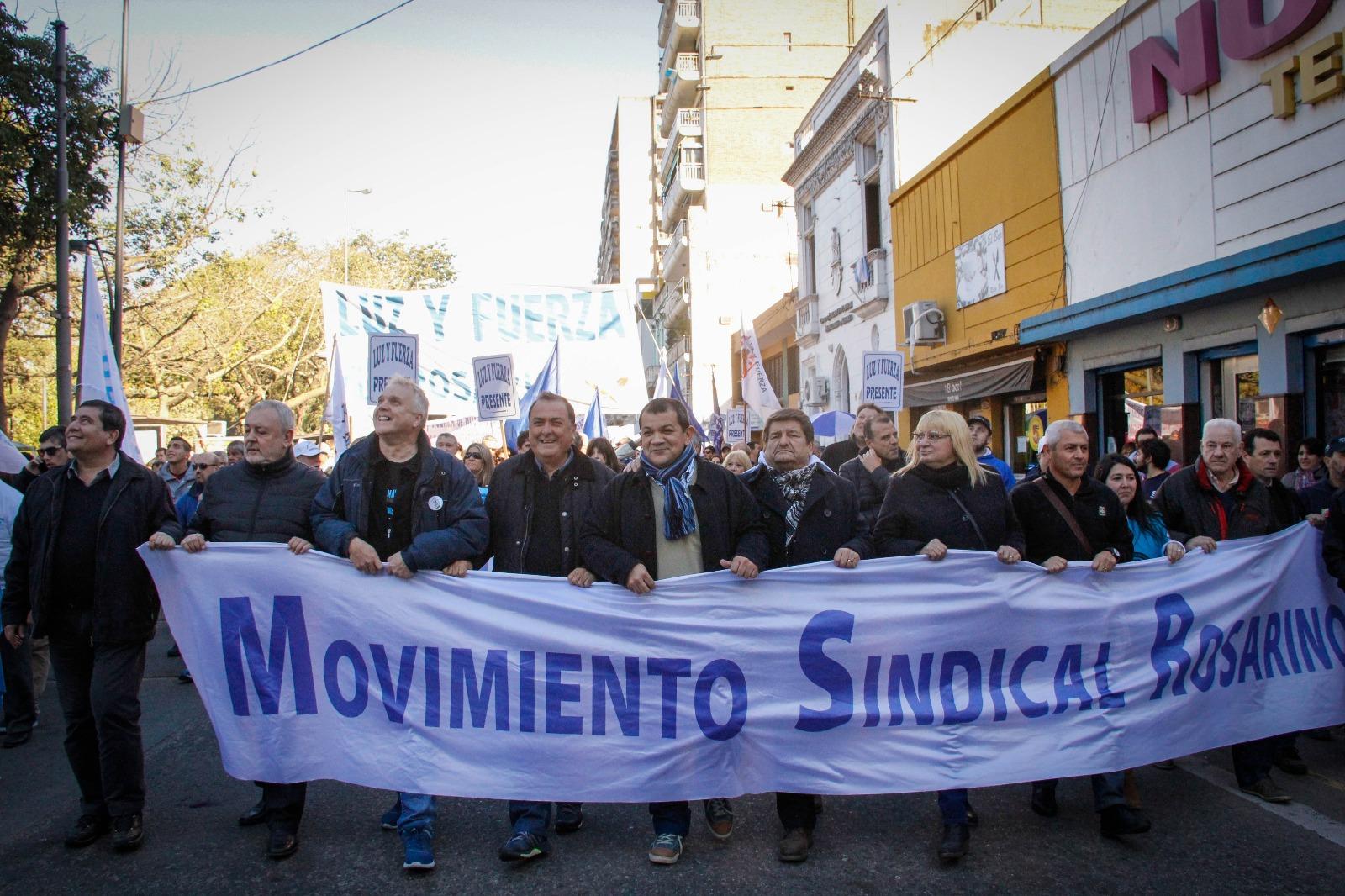 """Rosariazo: gremios preparan una lista sindical """"pura"""" para ir a las PASO"""