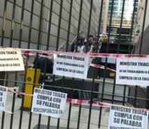 Nueva jornada de protesta contra los despidos de Triaca