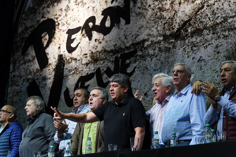 """La CGT dice que Macri quiere imponer """"la precarización laboral y el avasallamiento de derechos"""""""