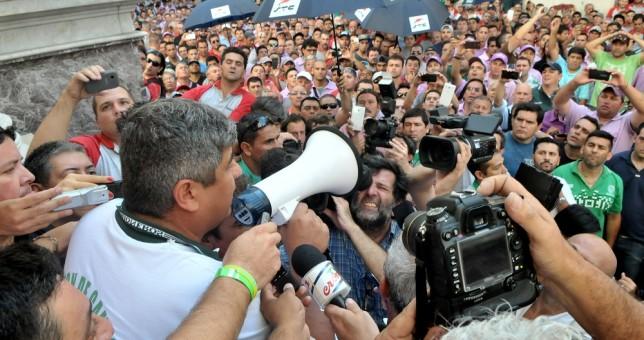 Pablo Moyano anunció una marcha para julio y apura a la CGT