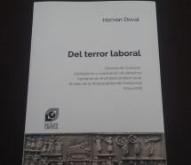 """""""Terror Laboral"""", un libro sobre prácticas antisindicales"""