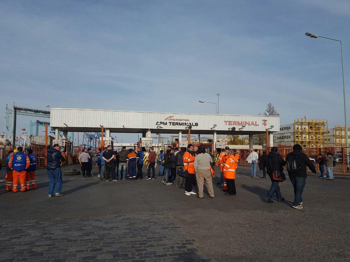 Despidos, paro y conciliación en el puerto