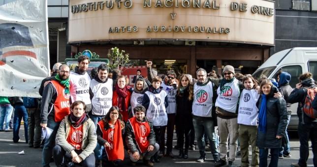 Exigen la reincorporación de los despedidos en el INCAA