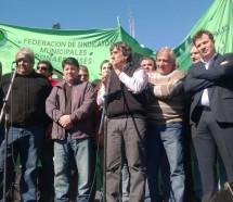 Municipales denuncian que de 135 distritos bonaerenses sólo 47 firmaron convenios colectivos
