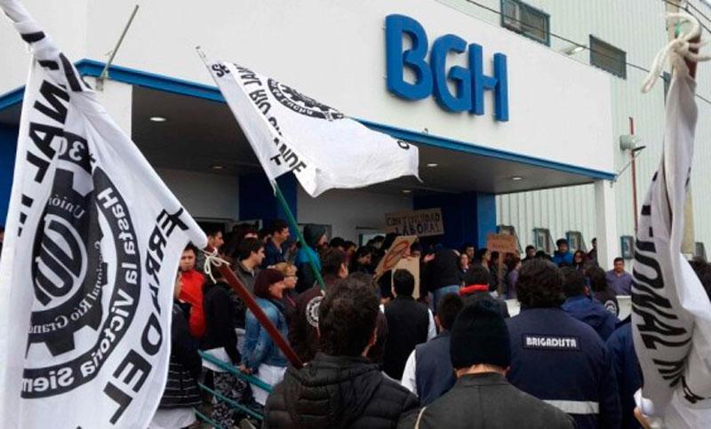 Metalúrgicos de Tierra del Fuego denuncian inminentes despidos en BGH