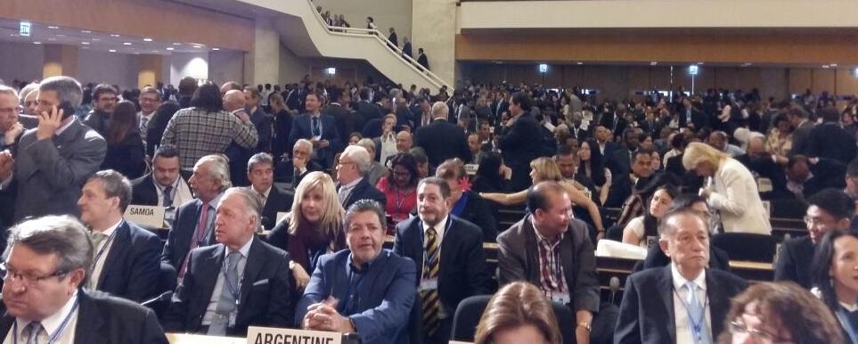 Actividad y perlitas de la delegación sindical Argentina en la Cumbre de la OIT