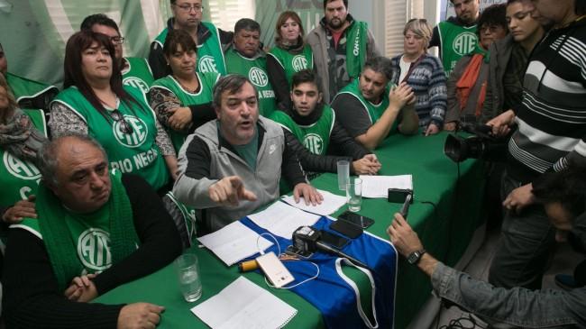 Denunciaron ante la OIT la detención de dirigentes de ATE Río Negro