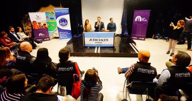 Con críticas al Gobierno Nacional, San Luis y el SiTraJu firmaron un acuerdo de cooperación