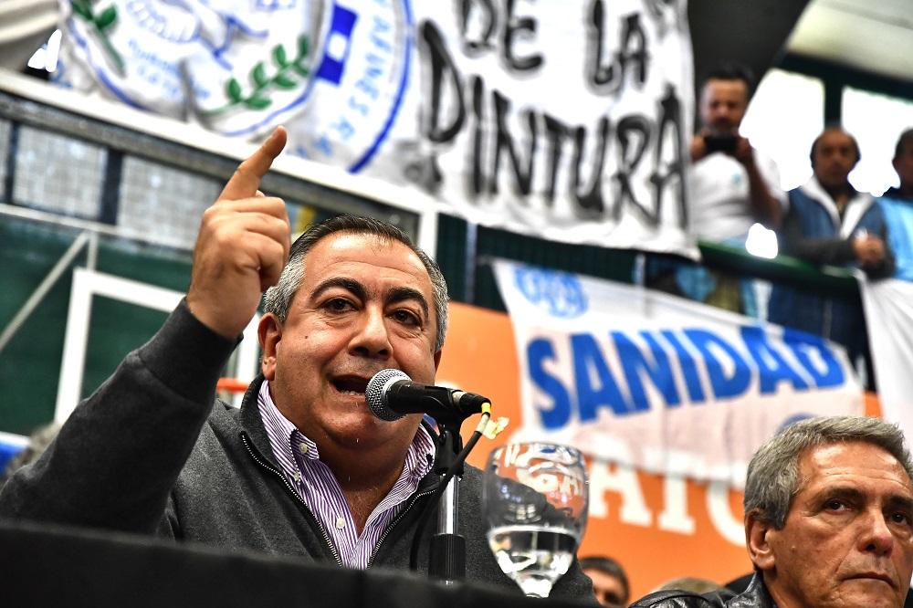 Otra vez Héctor Daer fue el elegido para manifestar el descontento con el accionar de la CGT