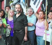Finocchiaro dijo que Macri no cumplió sus promesas de campaña y los docentes lo cruzaron