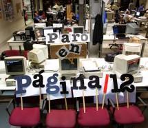 Trabajadores de Página 12 no cubrieron las PASO