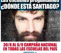 Suteba niega que la campaña por Santiago Maldonado sea un adoctrinamiento