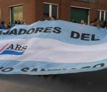 """Trabajadores de Astilleros Río Santiago cruzaron a Vidal que los tildó de """"no productivos"""""""