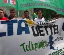Denuncia ante la OIT y movilización hacia la sede de Telefónica por persecución sindical