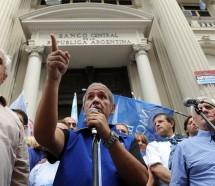 La Bancaria confirmó que hoy reclamará un paro general y pidió que los trabajadores no voten a Cambiemos