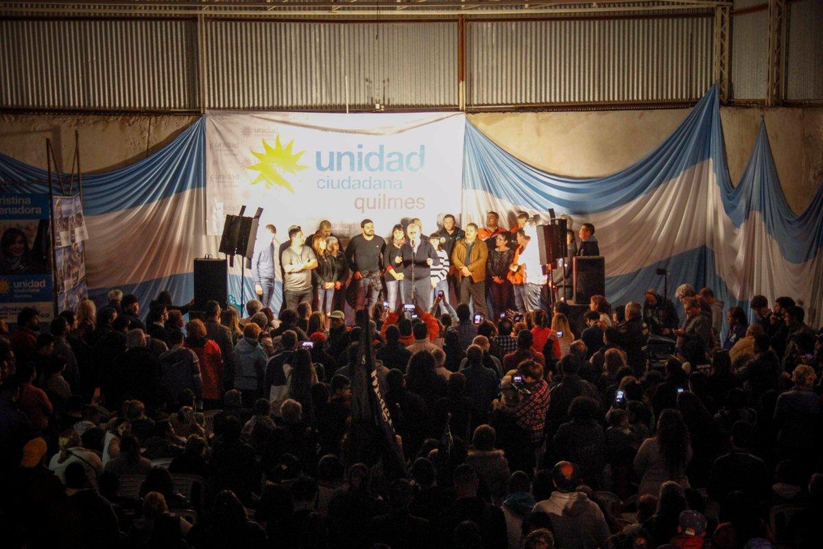 Apoyo gremial para Taiana que reclamó la unidad de los trabajadores y el peronismo