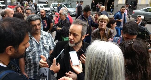 Movilizaron los docentes porteños por la falta de 12 mil vacantes y la reforma educativa