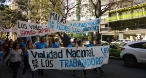Trabajadores de Vialidad moviizaron en Córdoba contra la privatización del organismo