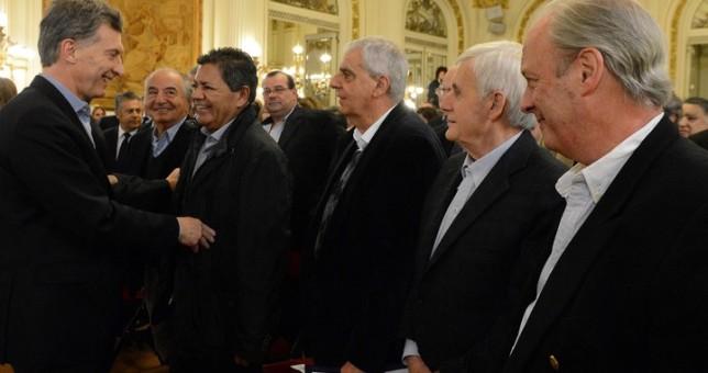Sindicalistas entre los invitados del Gobierno para el anuncio del paquete de reformas