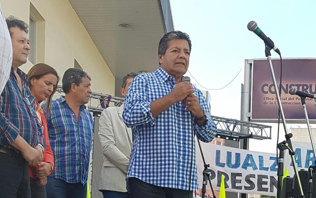 Una semana después y a pedido de Martinez, intervienen la Uocra La Plata