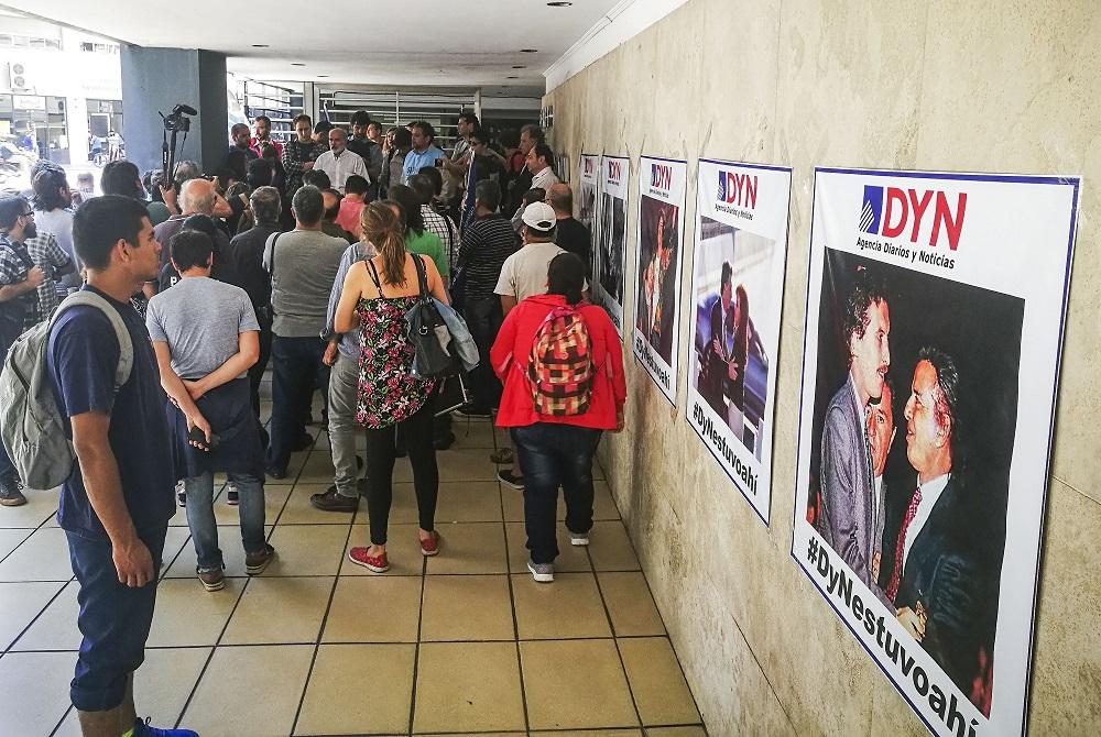 Clarín y La Nación ratificaron el cierre de la agencia DyN y el despido de sus 100 empleados