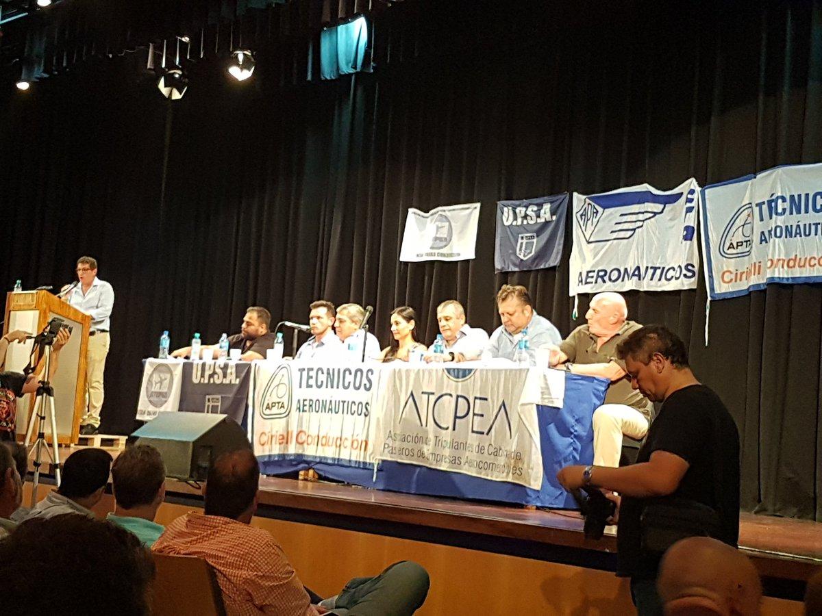 Aeronáuticos marchan el #29N contra las reformas que apuntan a precarizar a los trabajadores