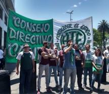 ATE Capital salió a la calle contra los despidos en el Estado