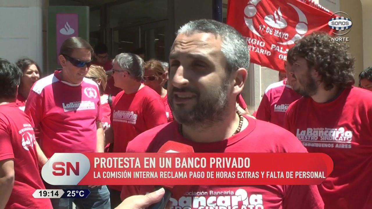 Tensión en el SantanderRio