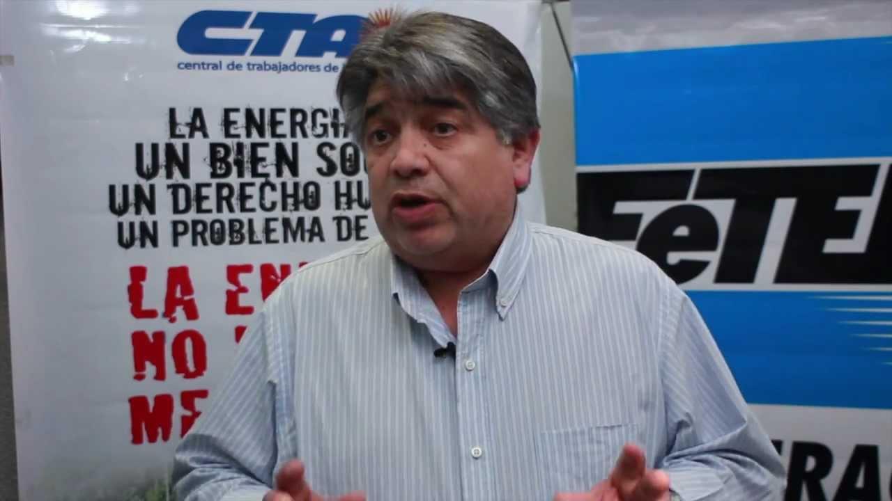 """""""Están privatizando la energía"""""""