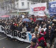 Las tres vertientes de la CTA paran y marchan contra la reforma previsional
