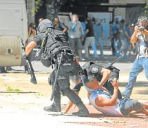 En 2017 se duplicaron las detenciones en manifestaciones