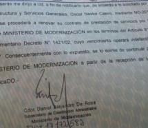 Despidos masivos en el Ministerio de Modernización