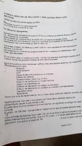 COPIA DEL INFORME DE AUDITORIA DONDE SUGIERE SEMBRAR SOJA EN EL PREDIO DE FM