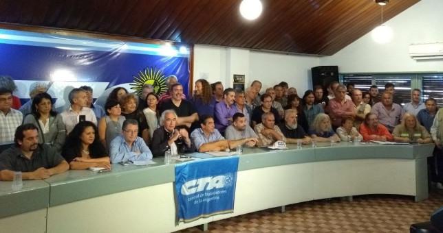 ATE y gremios de izquierda paran y movilizan contra el paquete de reformas