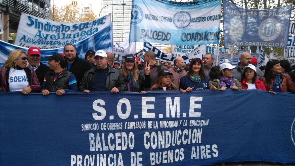 Con Balcedo detenido, el Soeme se suma a la andanada de gremios intervenidos