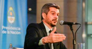 """Peña cruzó a Acuña y dijo que la CGT """"respaldó innumerable cantidad de veces"""" la reforma laboral"""