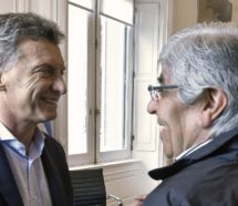 "Macri le envió un mensaje a Moyano: ""No se ponga nervioso"""