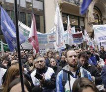 Terminó la conciliación y los trabajadores del Bapro vuelven a los paros contra la reforma previsional de Vidal