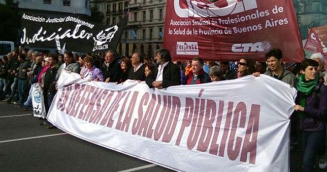 """Los médicos le piden a Vidal que """"jerarquice la salud pública"""""""