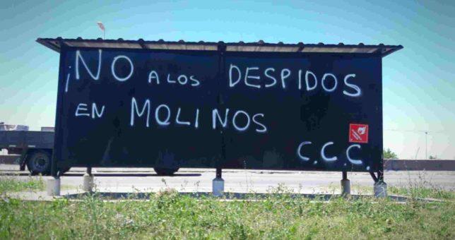 Despidos en Molinos Río de La Plata