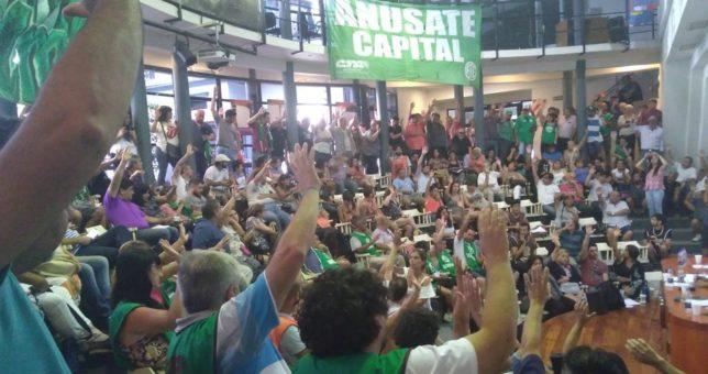 ATE ratificó un plan de lucha nacional contra los despidos, que inicia hoy con una protesta contra Vidal