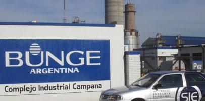 Bunge despidió al menos 100 operarios en su planta de Campana