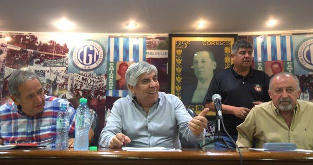 """Moyano denunciará ante la OIT """"persecuciones"""" del Estado contra el sindicalismo"""
