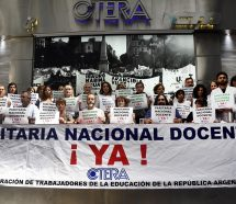 Ctera pide Paritaria Nacional Docente para evitar un inicio de clases con conflicto