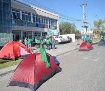 Sigue el conflicto en el Senasa y sumaron un acampe contra los 130 despidos