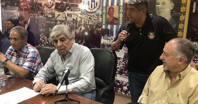 """""""Gorila ultradespreciable"""", la respuesta de Moyano a Amadeo"""
