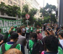Estatales movilizan a La Plata para pedirle a Vidal paritarias sin techo