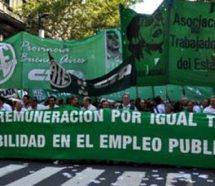Contra los despidos, ATE va a un paro nacional el 11 de abril con acampes y movilizaciones