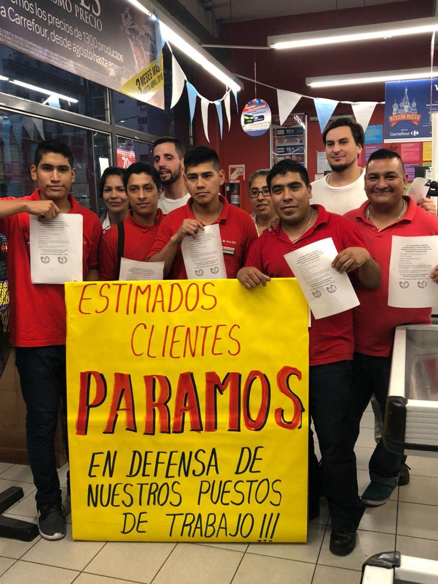 Rebelión en Carrefour contra el acuerdo firmado por Cavalieri